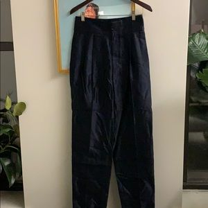 Marc by Marc Jacobs silk trousers